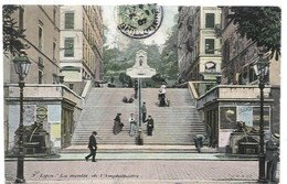 Lyon -  Montée De L'Amphithéâtre, 1907 - Lyon