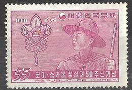 8Bv-950:restje:  Mi.N°239: Mint Hinged ...om Verder Uit Te Zoeken... - Corée Du Sud