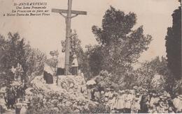 CPA Ste-Anne D'Evenos (marqué St-Anne) - Une Scène Provençale - La Procession En Plein Air ... à N-D Du Beausset Vieux - Autres Communes