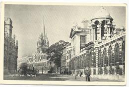 W1091 Oxford - High Street / Viaggiata 1965 - Oxford