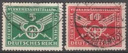 Deutsches Reich    .     Michel       .   370/371     .       O        .      Gebraucht - Germania