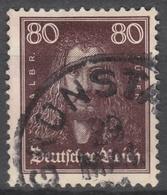 Deutsches Reich    .     Michel       .   397     .       O        .      Gebraucht - Allemagne