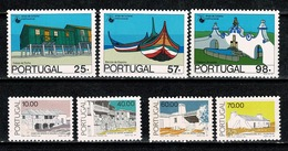 Portugal  1987 Yv. 1687/89*, 1690/93* MH (2 Scans) - Neufs