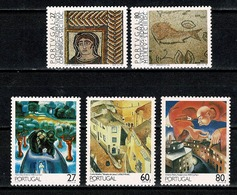 Portugal  1988 Yv. 1745/46*, 1747/49* MH (2 Scans) - Neufs