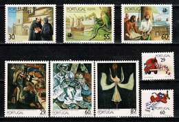Portugal  1989 Yv. 1750/52*, 1753/54*, 1755/57* MH (2 Scans) - Neufs
