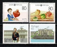 Portugal  1989 Yv. 1763/64*, 1778/79* MH (2 Scans) - Neufs