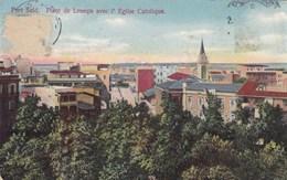 Port Said, Place De Lesseps Avec L'Eglise Catholique (pk56212) - Port Said