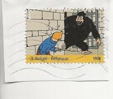 """Timbre Tintin-""""Au Pays De L'or Noir"""" - Oblitérés"""