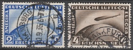 Deutsches Reich    .     Michel       .    423/424     .       O        .      Gebraucht - Oblitérés