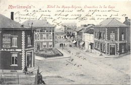 Morlanwelz NA28: Hôtel Du Beau-Séjour. Quartier De La Gare 1916 - Morlanwelz