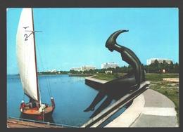 Mamaia - Lacul Siutghiol - Voilier / Zeilboot / Segelboot - Roumanie