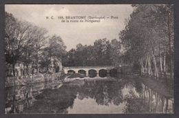 100259/ BRANTOME, Pont De La Route De Périgueux - Brantome
