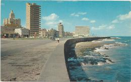 W1094 Cuba - Habana - Malecon - Embajada Americana - Red Machine Timbre / Viaggiata 1960 - Cuba