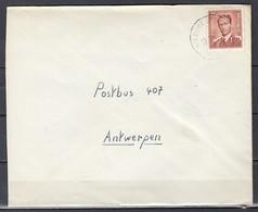 Brief Van Wildert (Essen) Naar Antwerpen - 1953-1972 Lunettes