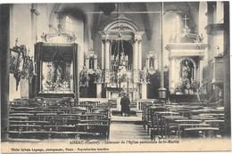 Aiseau NA5: Centre. Intérieur De L'Eglise Paroissiale De St-Martin - Aiseau-Presles