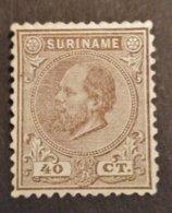 Suriname - Nr. 12C Postfris Met Plakker - Surinam ... - 1975