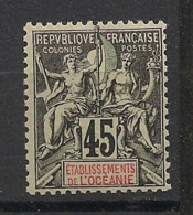 Océanie - 1900-07 - N°Yv. 19 - Groupe 45c Noir - Neuf Luxe ** / MNH / Postfrisch - Oceania (1892-1958)