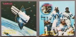 Bhoutan - YT Aérien N°125, 126 - Espace / Apollo XVII - 1973 - Neufs - Bhutan