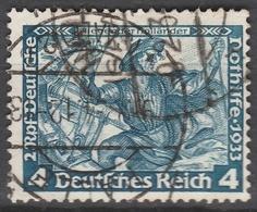 Deutsches Reich    .     Michel       .    500A      .       O        .      Gebraucht - Allemagne
