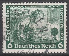 Deutsches Reich    .     Michel       .    502A      .       O        .      Gebraucht - Allemagne