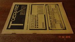 #20716 [Boek - Tijdschrift] Toerisme, Negende Jaargang, Nummer 18, 15 September 1930 Rodenbach Halle Aubel - Tourisme