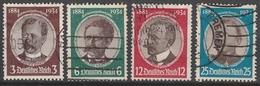 Deutsches Reich    .     Michel       .    540/543      .       O        .      Gebraucht - Germania