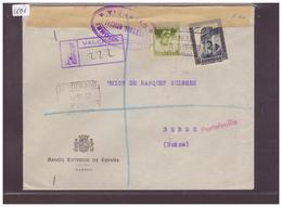 ESPAGNE - LETTRE CENSUREE POUR LA SUISSE - !!! WARNING: NO PAYPAL!!! - 1931-Today: 2nd Rep - ... Juan Carlos I
