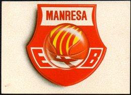 BASKETBALL - LIGA ACB - BASQUET MANRESA - MARCA - STICKER - Basketball - NBA