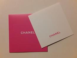 "CHANEL ~~~  "" Saint Valentin  ""  Carte + Enveloppe  !! - Modern (from 1961)"