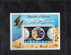 Libéria 1963 Bloc MNH ** Mission APOLLO 17 01829 - Space
