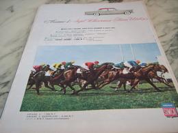 ANCIENNE PUBLICITE VOITURE  SIMCA ARIANE 4 SEPT CHEVAUX  1960 - Voitures