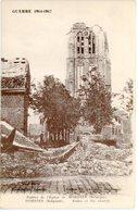 CPA Belgique Woesten Vleteren Guerre 1914-1917 Destructions église Non Circulée - Vleteren