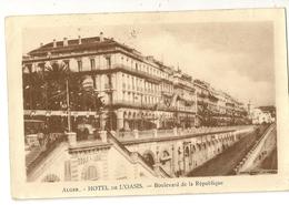 S7341 - Alger - Hotel De L' Oasis - Boulevard De La République - Alger