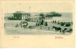 CPA England Brighton The Pier 1900 - Brighton