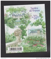 FRANCE / 2011 / Y&T N° 4580/4581 ** En Bloc Ou F4580 ** : BF Jardins De Cheverny & Villandry - Gomme D'origine Intacte - Blocs & Feuillets