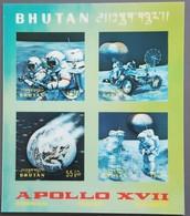 Bhoutan - YT BF N°53 - Espace / Apollo XVII - 1973 - Neuf - Bhoutan