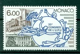 Monaco 1989 - Y & T N. 1702 - Union Postale Universelle - Neufs
