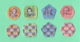 Moldavia Transnistria Set Coin's 1-3-5-10 Rubli Polimer  FDC - Monete
