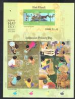 2006 29. März Indonesian Philathely Day Mi ID 2452 - 2465KB WAD ID037MS-06 Postfrisch Xx - Indonesien