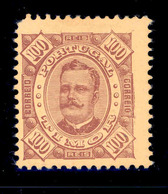 ! ! Timor - 1893 King Carlos100 R - Af. 34 - NGAI - Timor