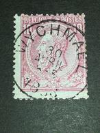 COB N ° 46 Oblitération Wychmael - 1884-1891 Léopold II