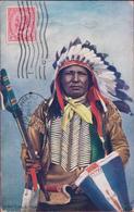 Chief Eagle Track North American Indian Native - Canada