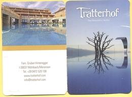 ITALIA - ITALY - Bergidyll Hotel Tratterhof - Monte Silva Spa - Rio Di Pusteria - Maranza - Chiave Con Porta Chiavi - Hotelkarten