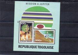 Togo Bloc MNH ** Non Dentelé Espace Mission Jupiter  02150 - Space