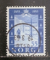 NORVEGE     N°   354   OBLITERE - Norvège