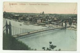BUDAPEST - LATKEPE - PANORAMA VON BUDAPEST   - VIAGGIATA FP - Romania