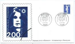 Enveloppe 1er Jour France FDC Marianne 1994 - FDC
