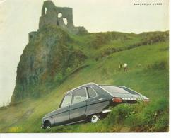 Ancien BUVARD PUBLICITAIRE VOITURE Renault 16 - Automobile