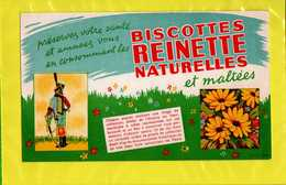 BUVARD : Biscottes REINETTE  Naturelles Et Maltées - Biscottes