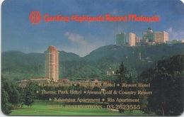 Malaisie : Genting Highlands Resort - Cartes D'hotel